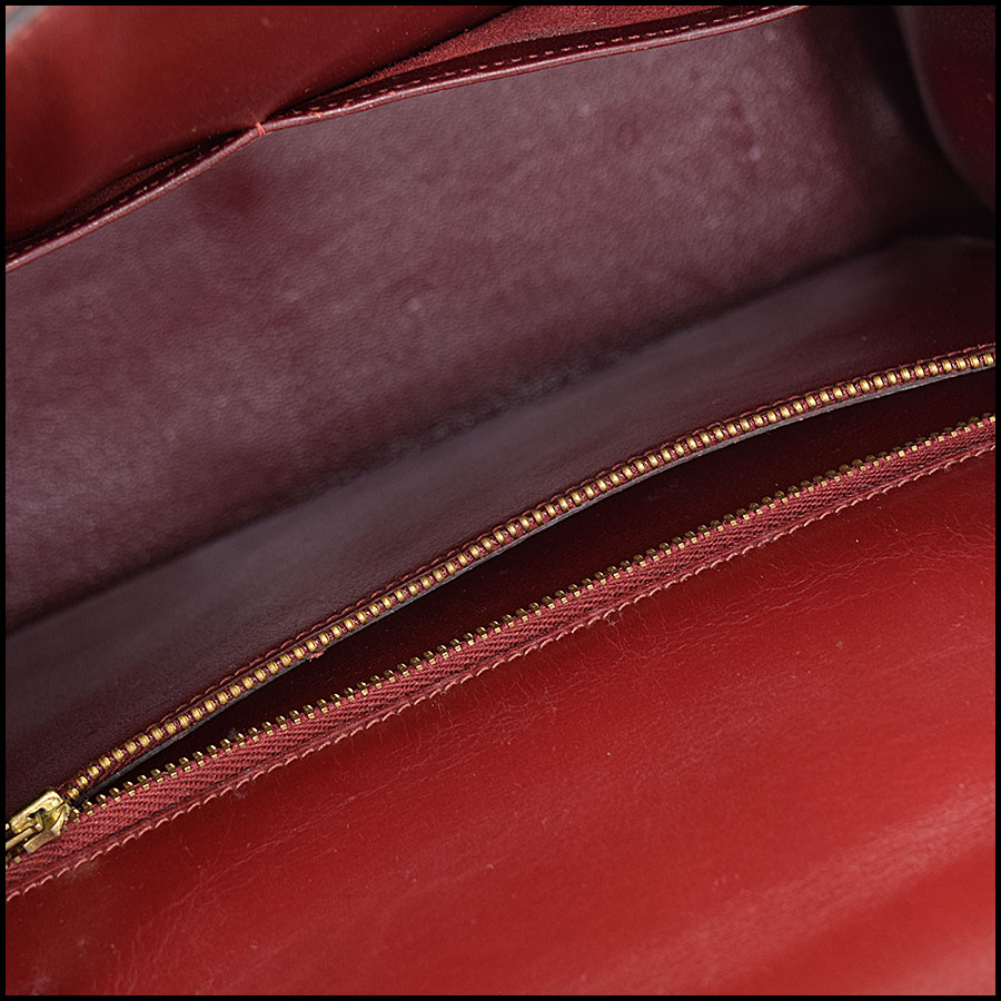 RDC9225 Hermes Kelly Rouge inside