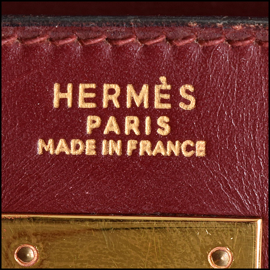RDC9225 Hermes Kelly Rouge logo