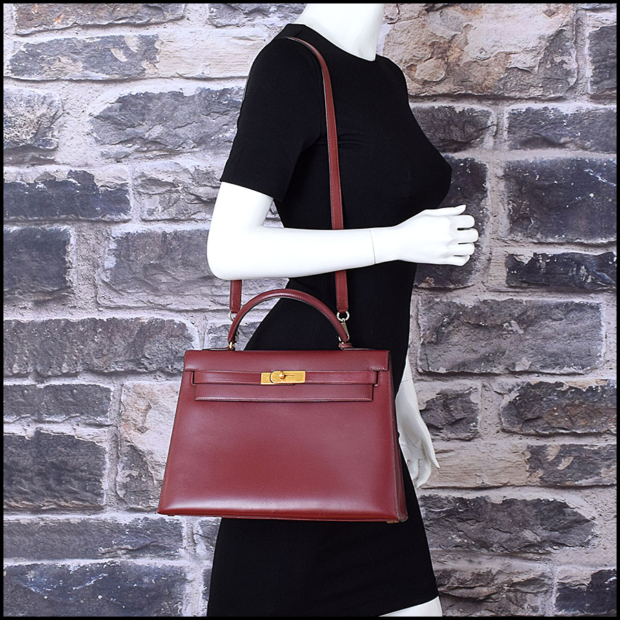 RDC9225 Hermes Kelly Rouge model