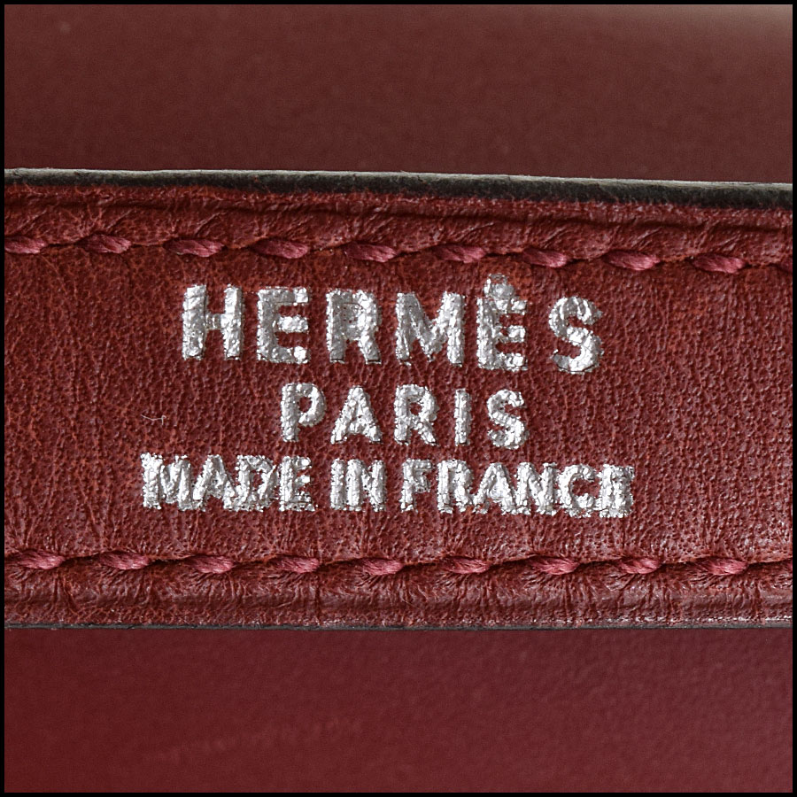 RDC9225 Hermes Kelly Rouge tag 2