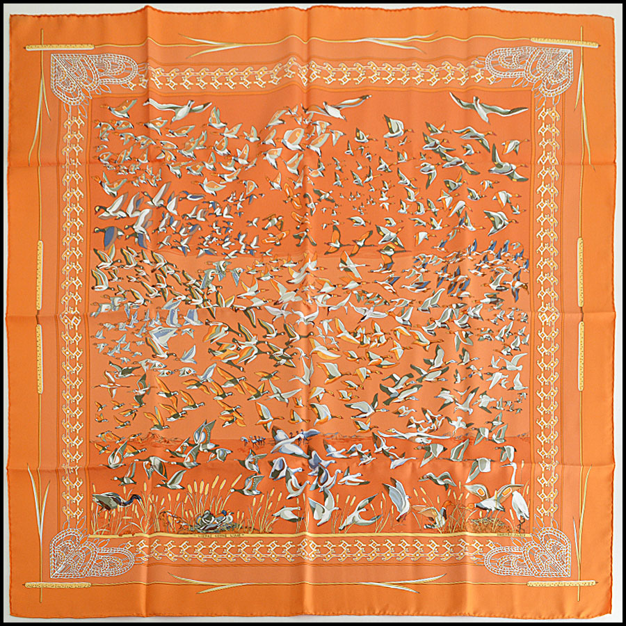 Hermes Libres Comme L'Air Scarf
