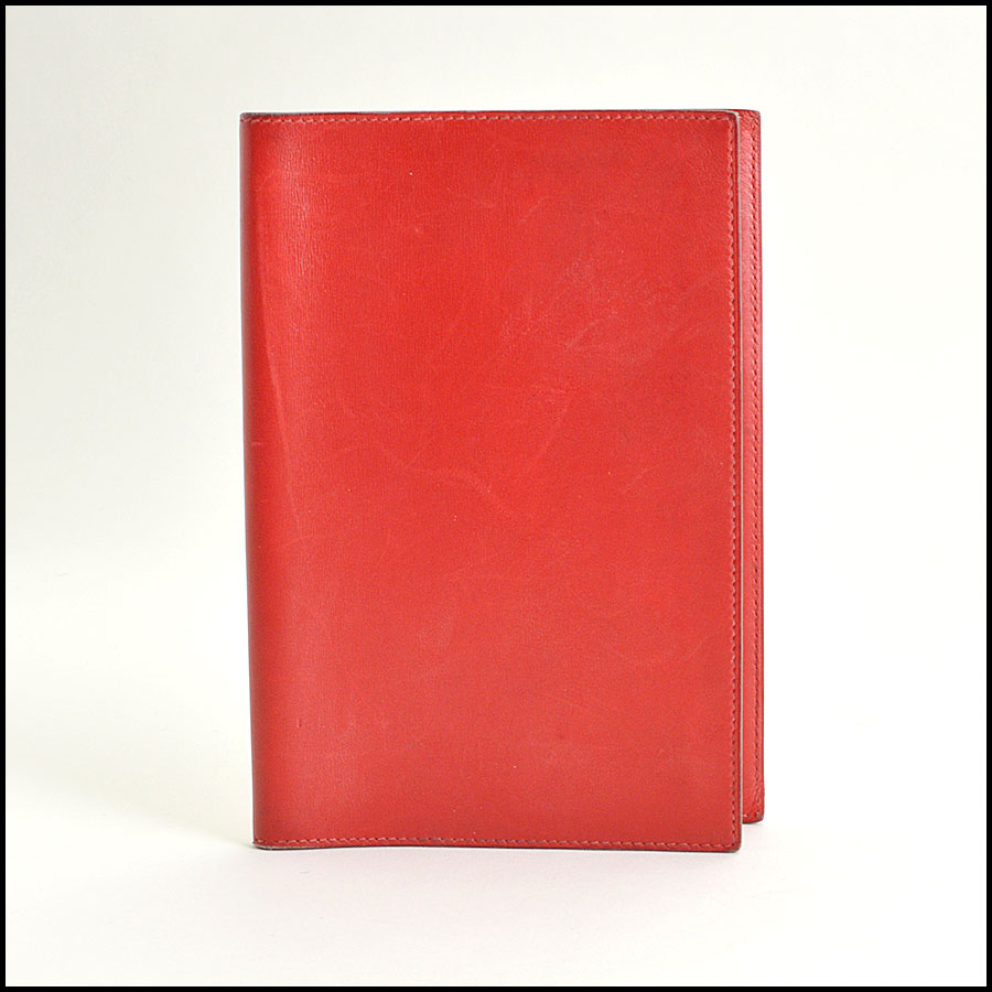RDC8688 Hermes Leather Agenda
