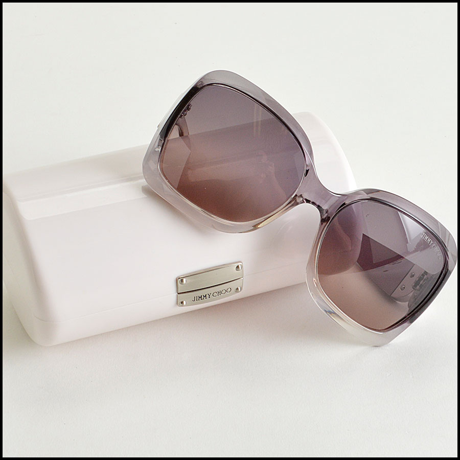 RDC8191 Jimmy Choo Clear Grey Ombre sunnies