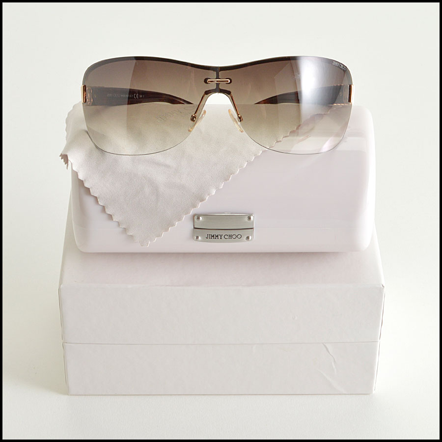 RDC8385 Jimmy Choo Ombre Brown Tortoise sunnies