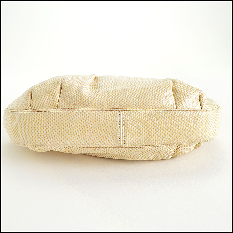 Judith Leiber Vintage Ivory Evening Bag bottom
