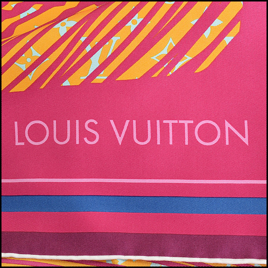 RDC9478 Louis Vuitton Scarf  logo