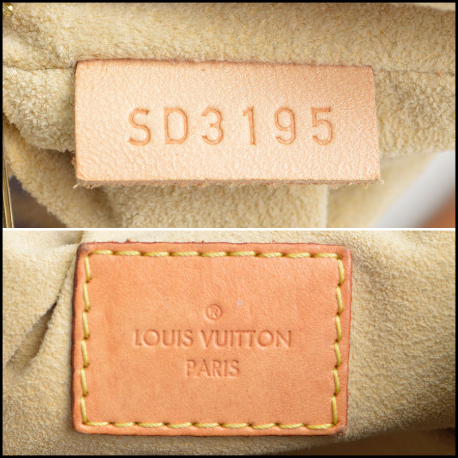 RDC8793 Louis Vuitton LV Monogram Artsy MM tag