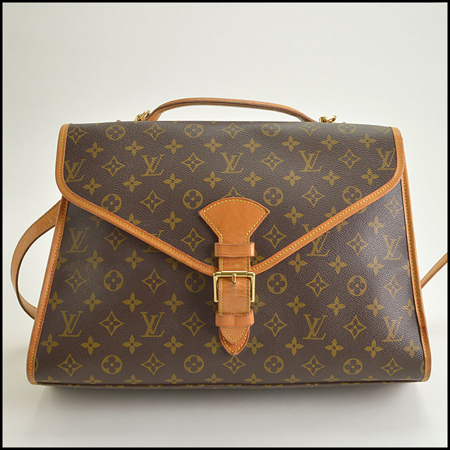 RDC8668 Louis Vuitton LV Monogram Beverly GM with Strap