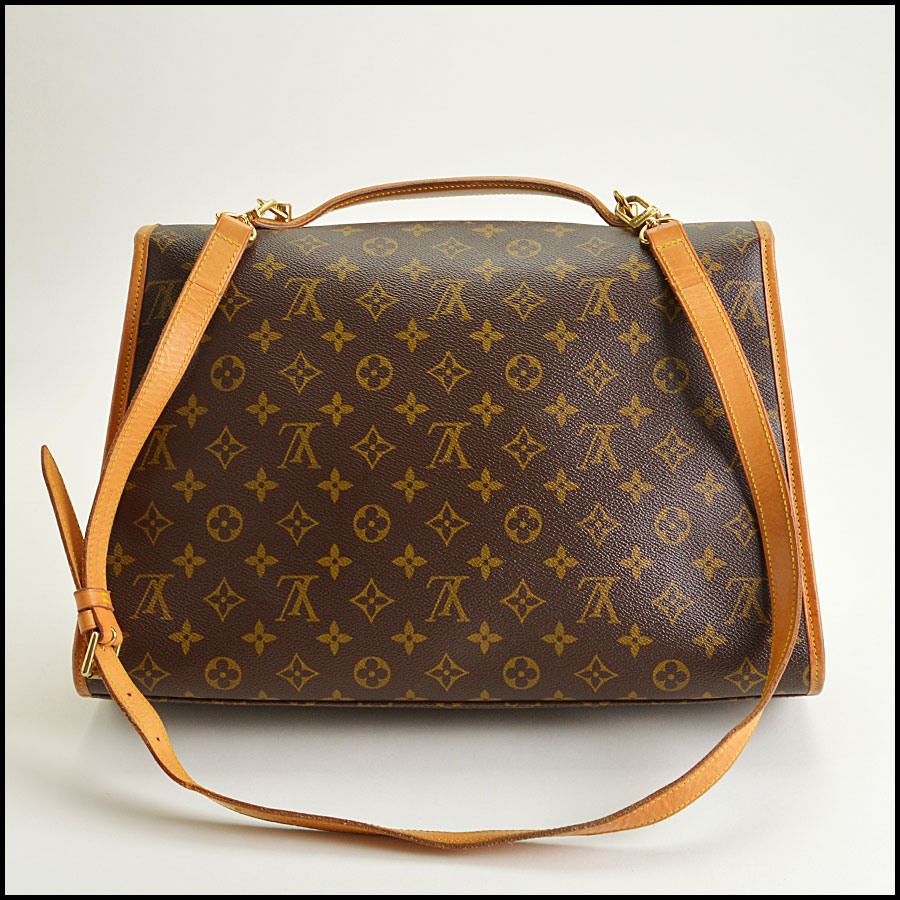 RDC8668 Louis Vuitton LV Monogram Beverly GM with Strap back