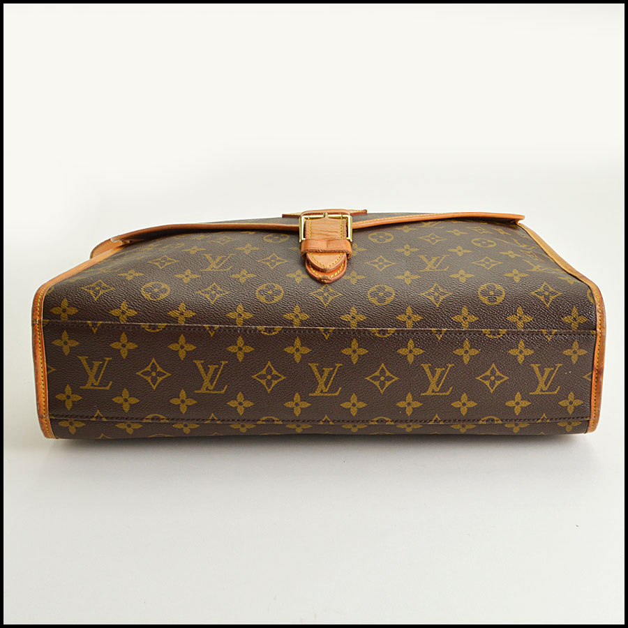 RDC8668 Louis Vuitton LV Monogram Beverly GM with Strap bottom