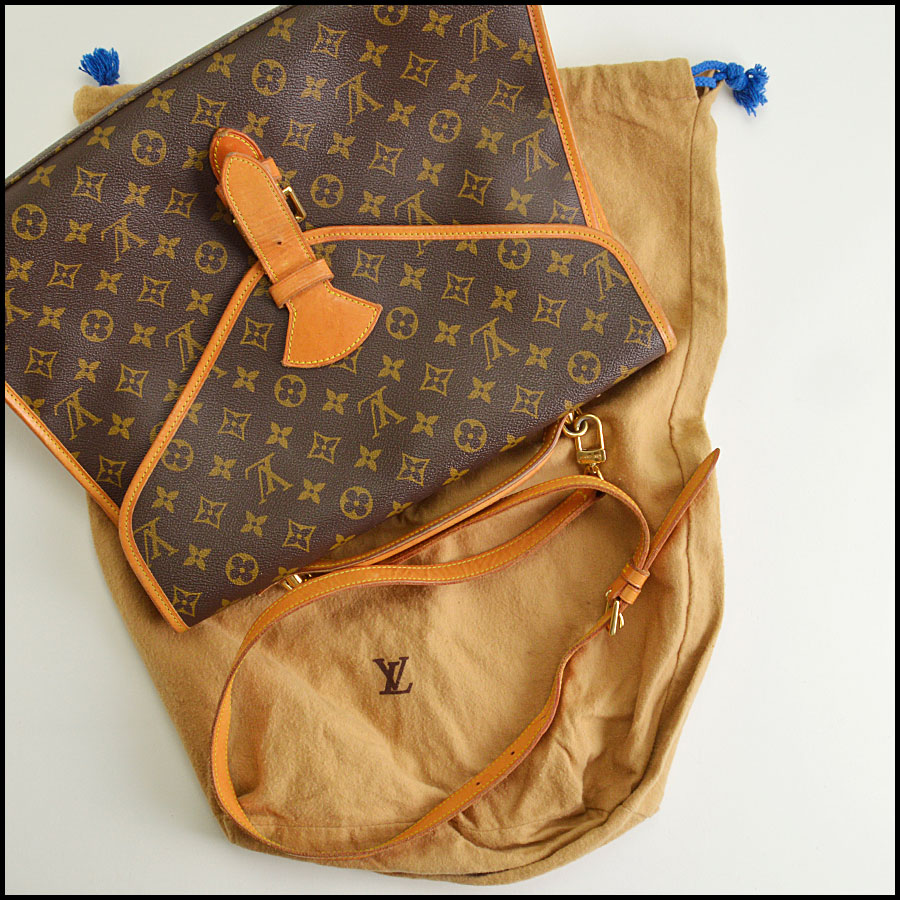 RDC8668 Louis Vuitton LV Monogram Beverly GM with Strap includes