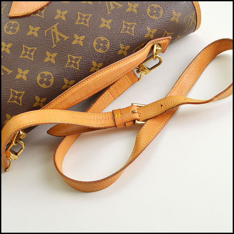 RDC8668 Louis Vuitton LV Monogram Beverly GM with Strap handle 1
