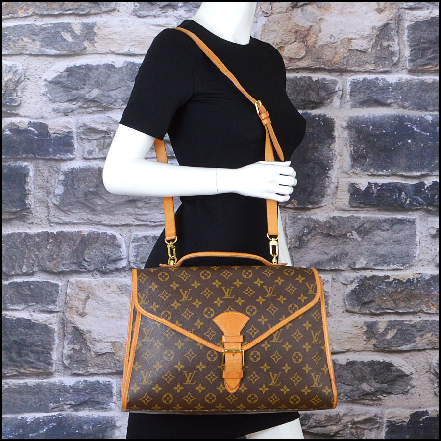 RDC8668 Louis Vuitton LV Monogram Beverly GM with Strap model