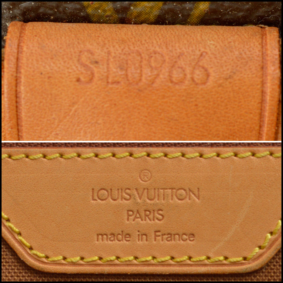 RDC8668 Louis Vuitton LV Monogram Beverly GM with Strap tag