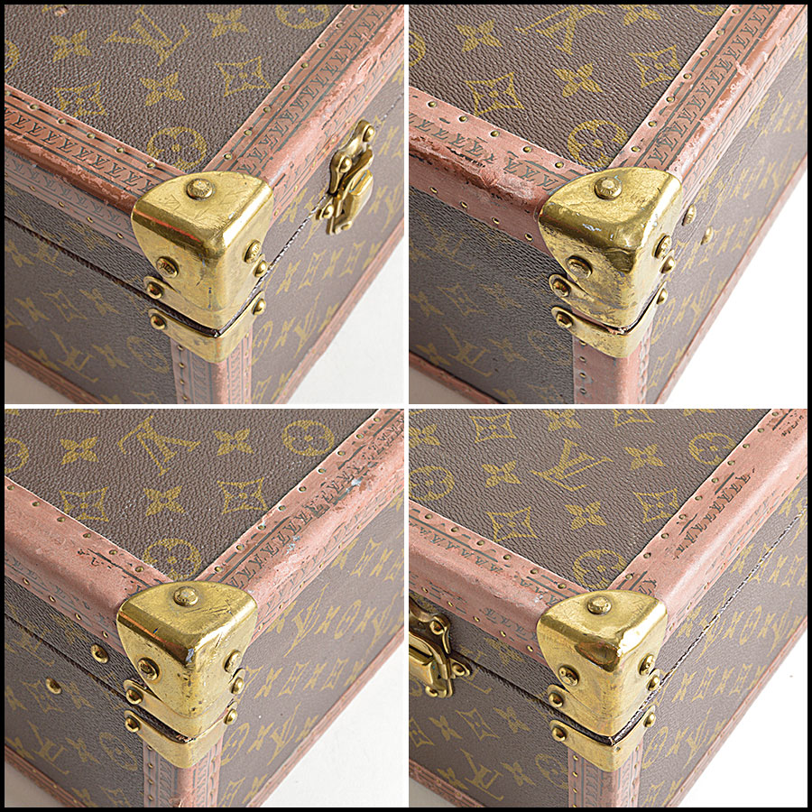 RDC8465 Louis Vuitton LV Bisten 70cm Hardcase corners two