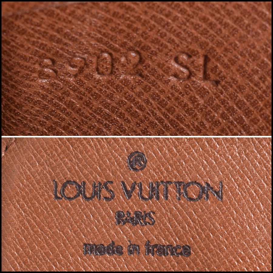 RDC9543 Louis Vuitton Cartouchiere tag
