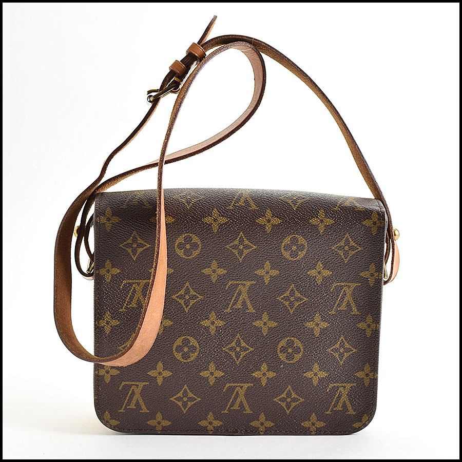 RDC9625 Louis vuitton LV Monogram Cartouchiere MM back