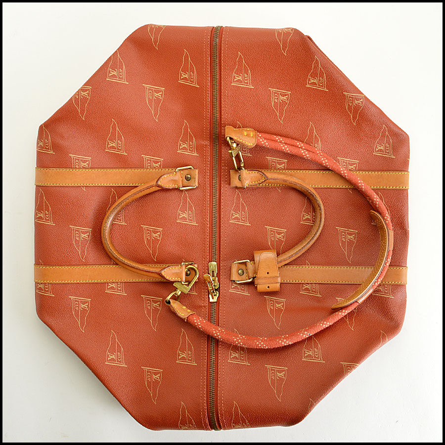 RDC7849 Louis Vuitton LV America's Cup Travel bag tag