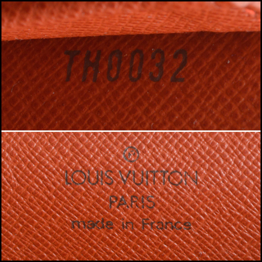 RDC8559 Louis Vuitton Damier Ebene Mini Tribeca tag