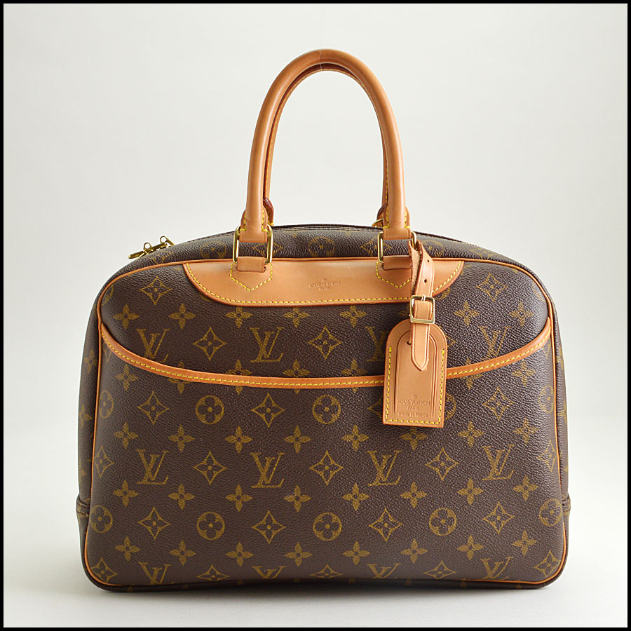 RDC8501 louis vuitton deuville satchel
