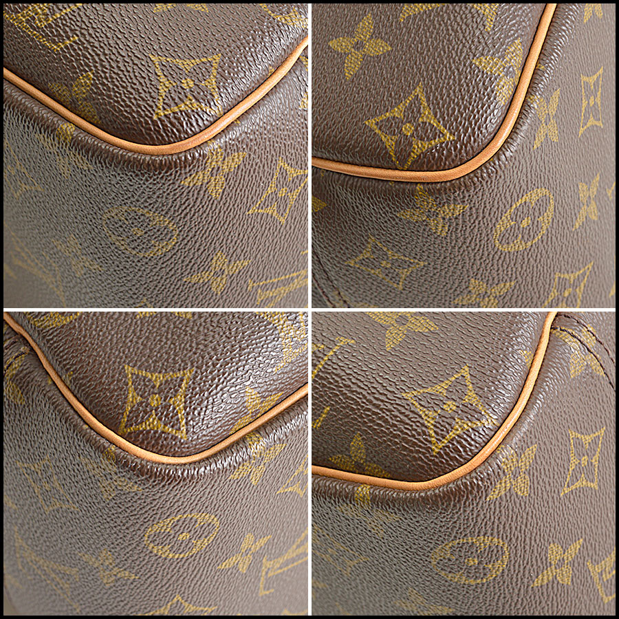 RDC8501 louis vuitton deuville satchel corners