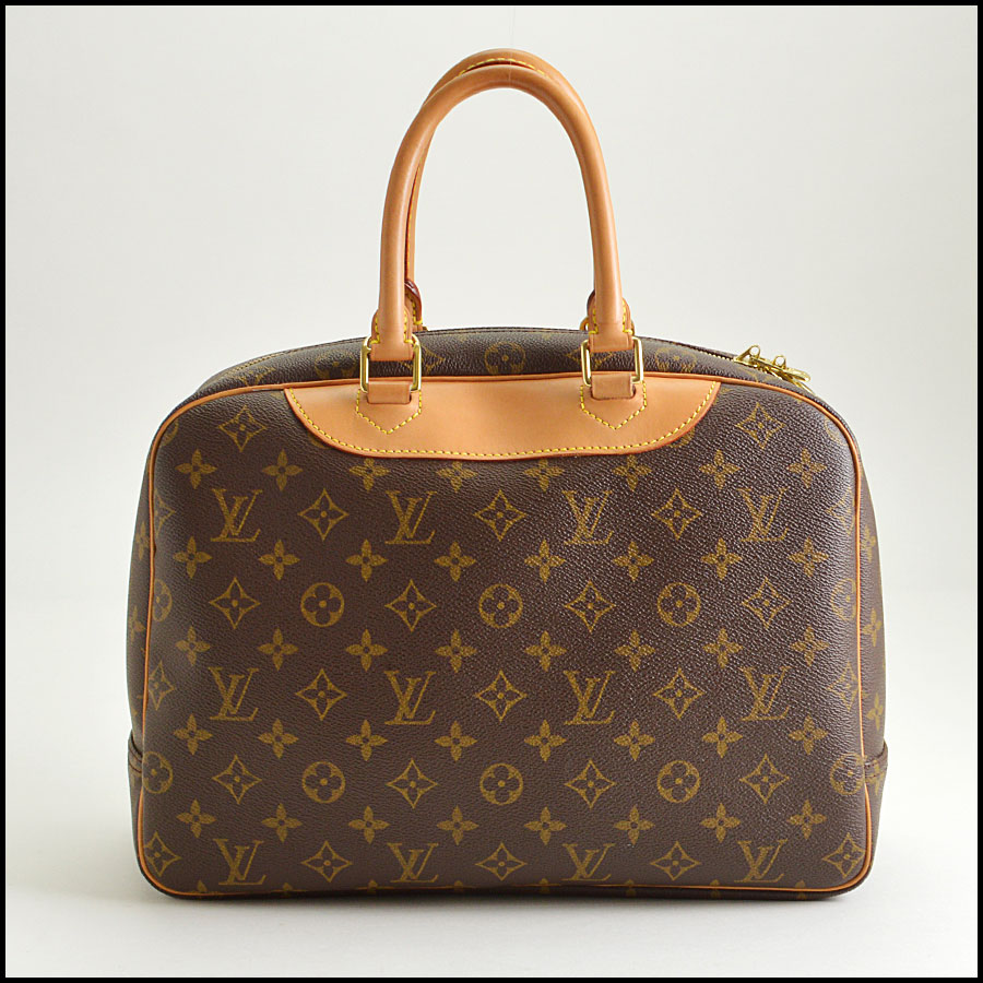 RDC8501 louis vuitton deuville satchel back