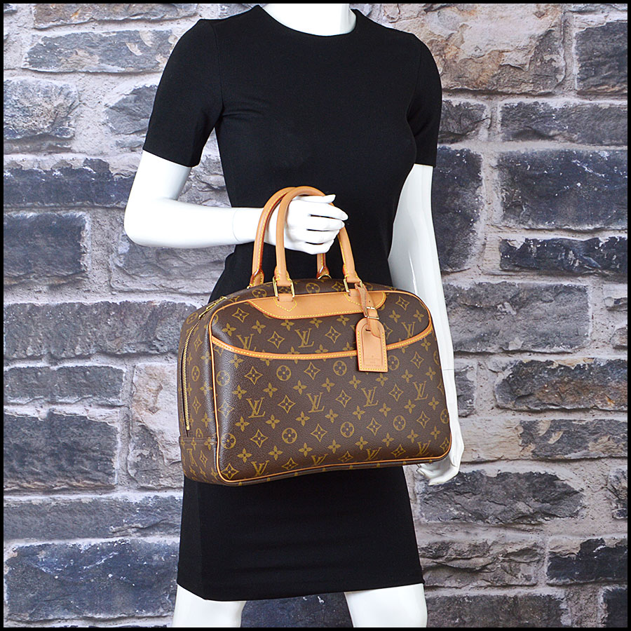 RDC8501 louis vuitton deuville satchel model