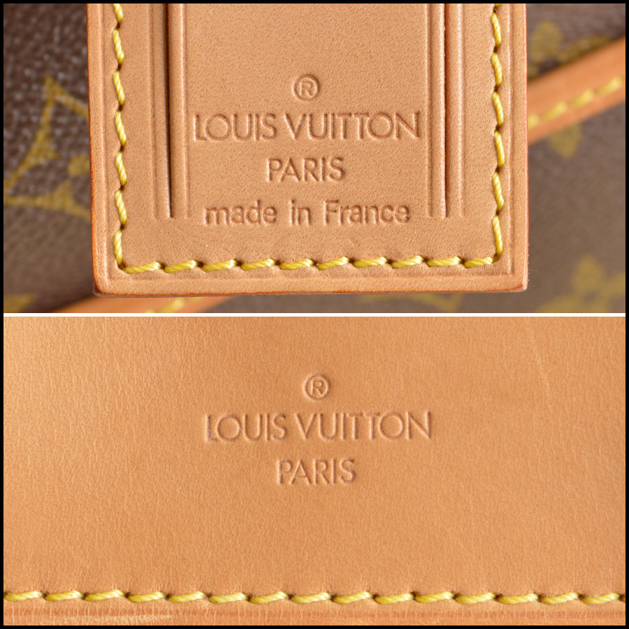 RDC8501 louis vuitton deuville satchel tag 1