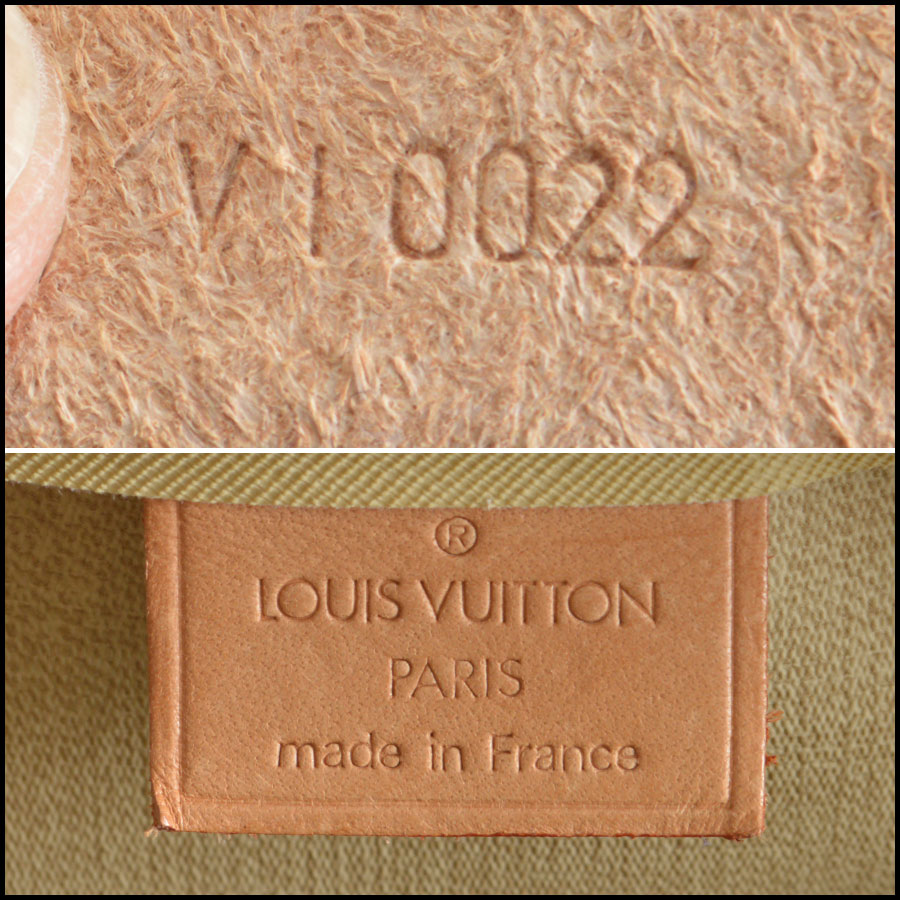 RDC8501 louis vuitton deuville satchel tag 2