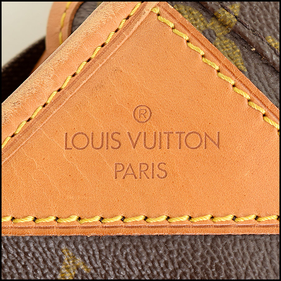 RDC9109 Louis Vuitton Garment Bag tag 2