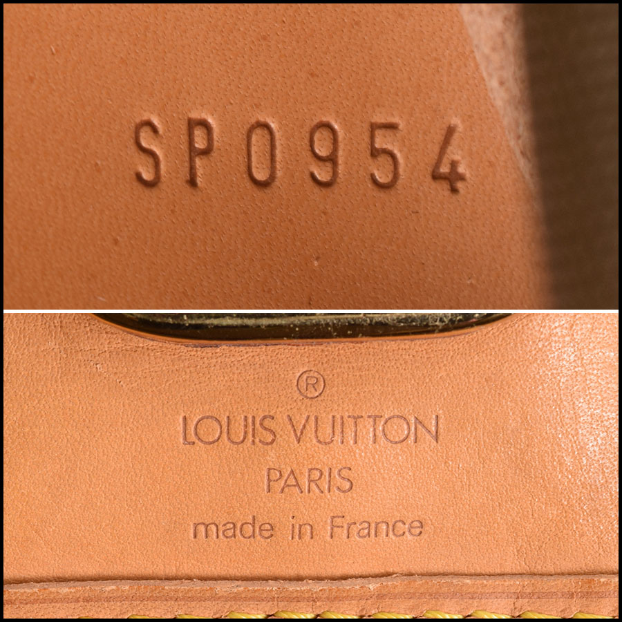 RDC9184 Louis Vuitton Garment Bag tag