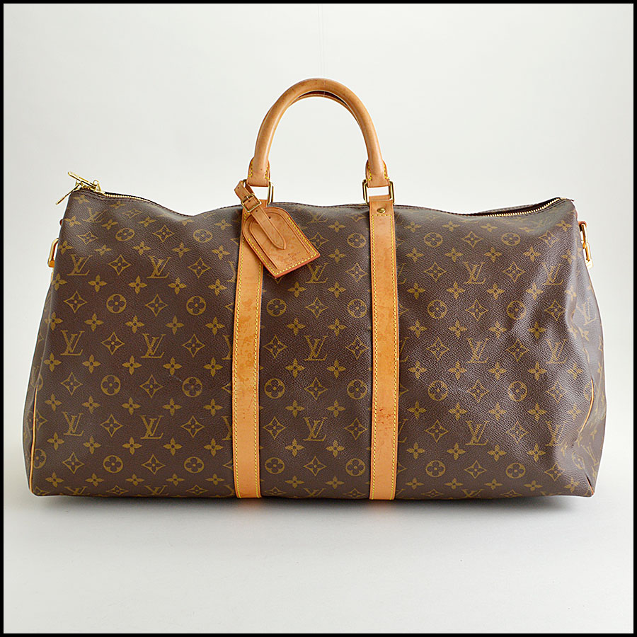 RDC8443 Louis Vuitton LV Monogram Keepall 55 Bandouliere
