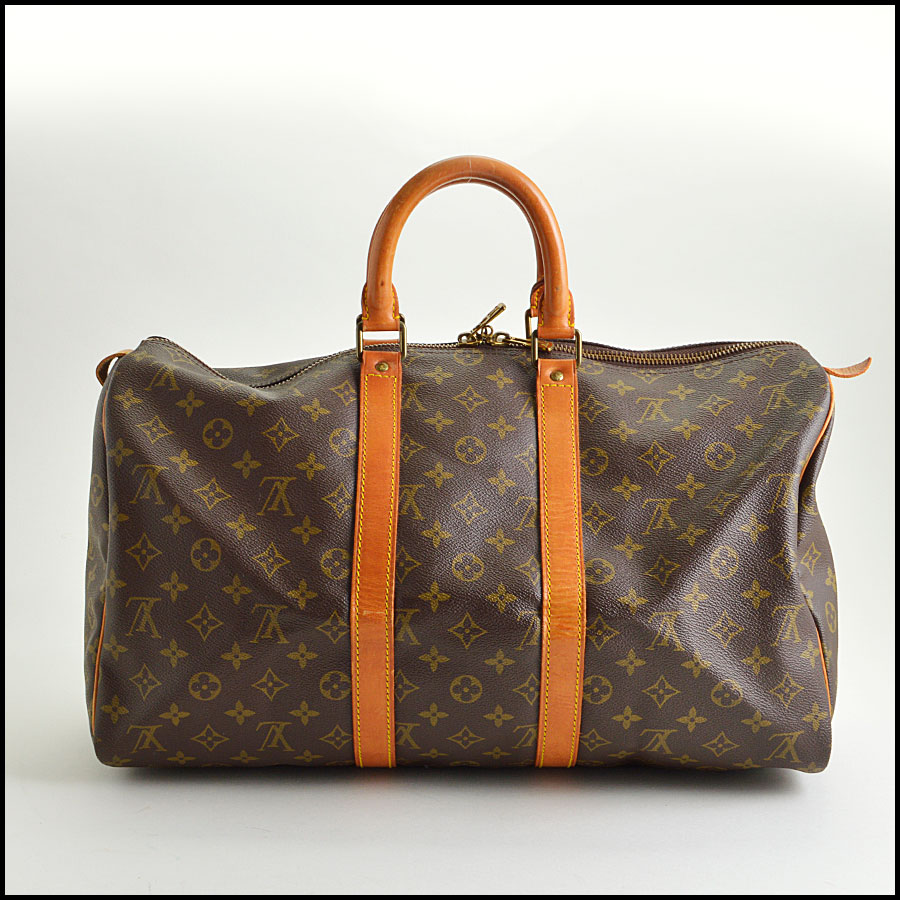 RDC8471 Louis Vuitton keepall 45 back