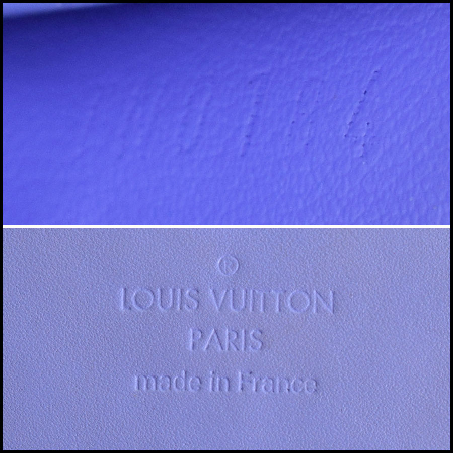 RDC9180 Louis Vuitton Vernis Wallet tag