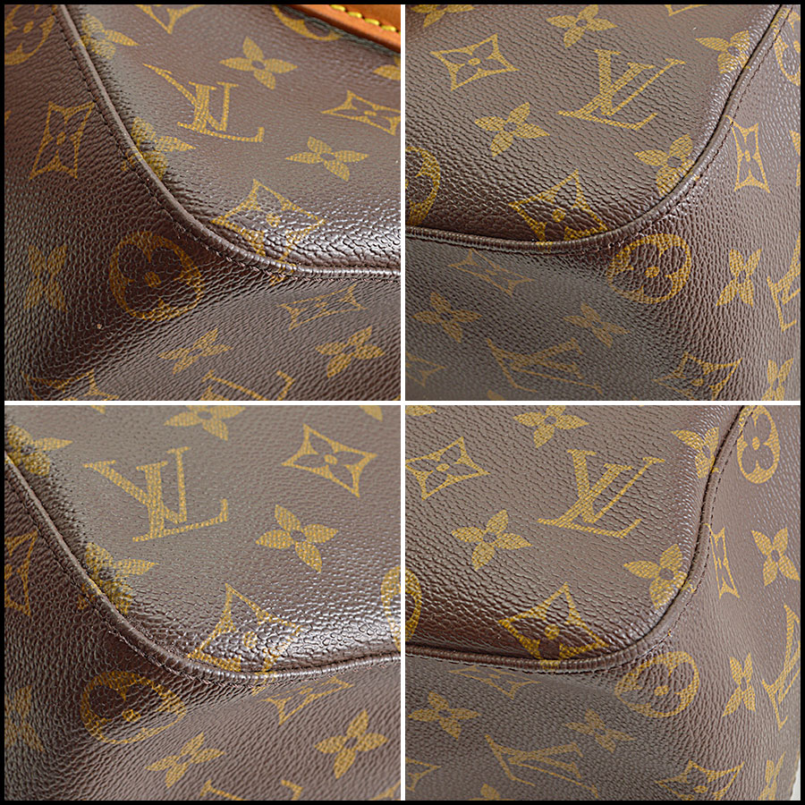 RDC8692 Louis Vuitton LV Monogram Looping GM corners