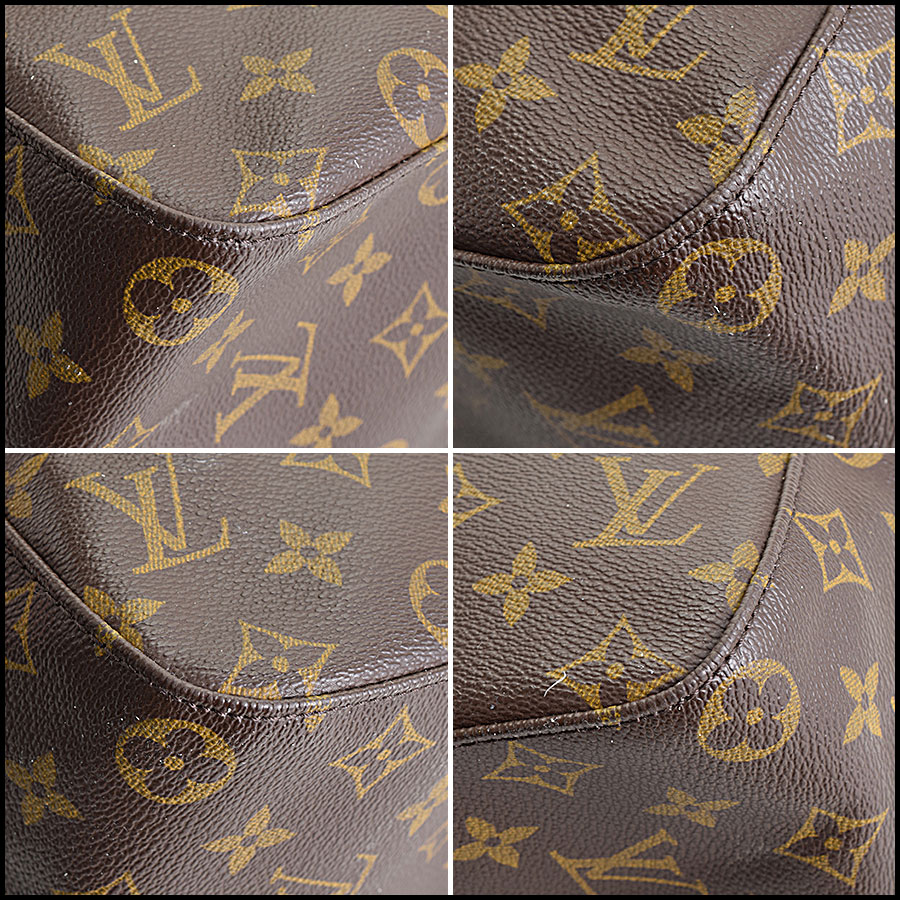 RDC9622 Louis Vuitton LV Monogram Looping GM corners