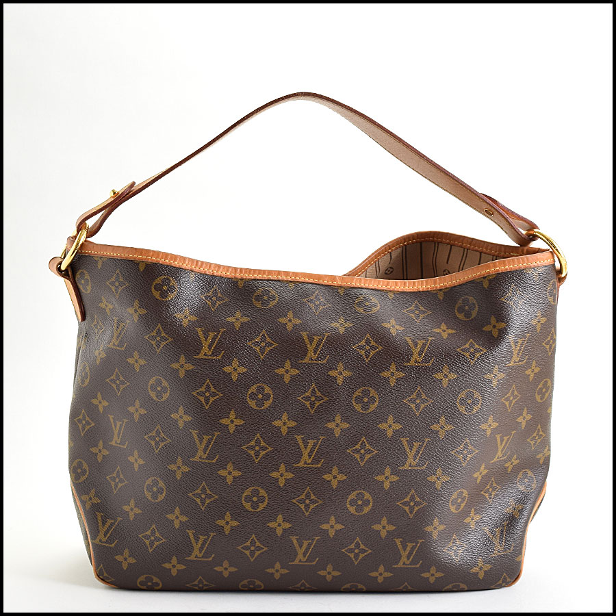 RDC9636 Louis Vuitton LV Monogram Delightful MM Hobo Bag back