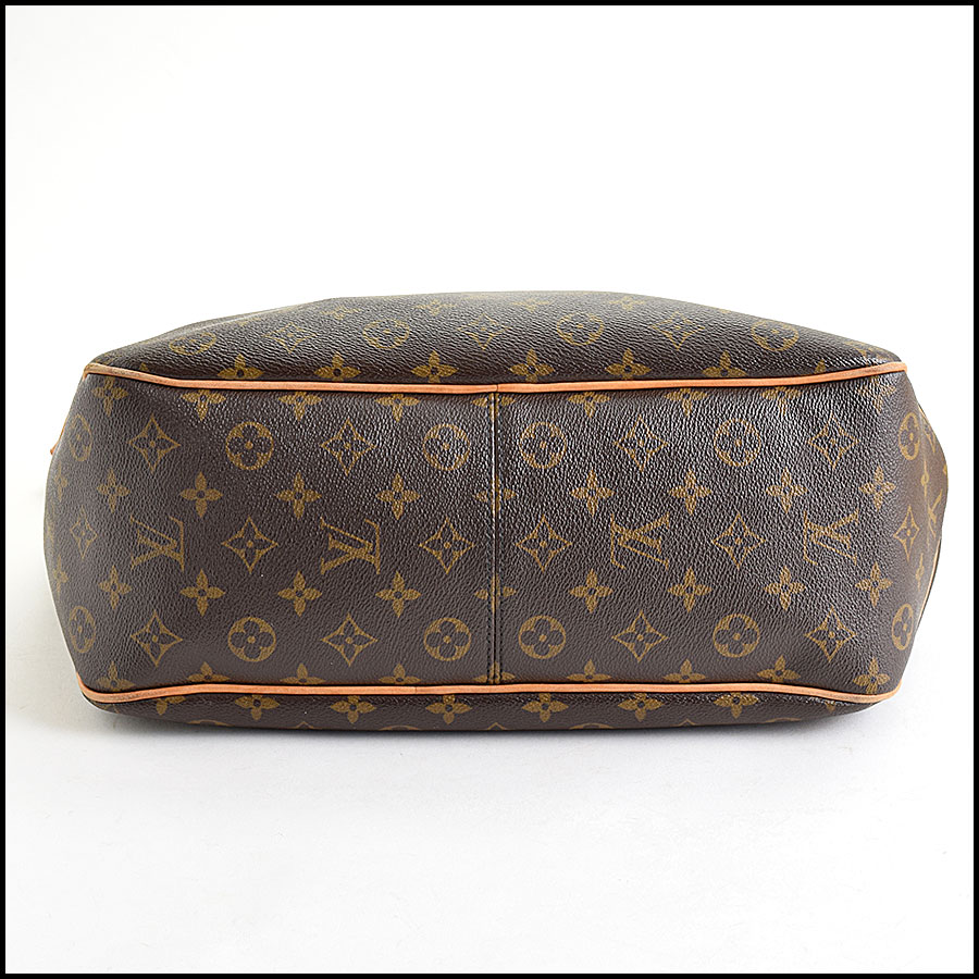 RDC9636 Louis Vuitton LV Monogram Delightful MM Hobo Bag bottom