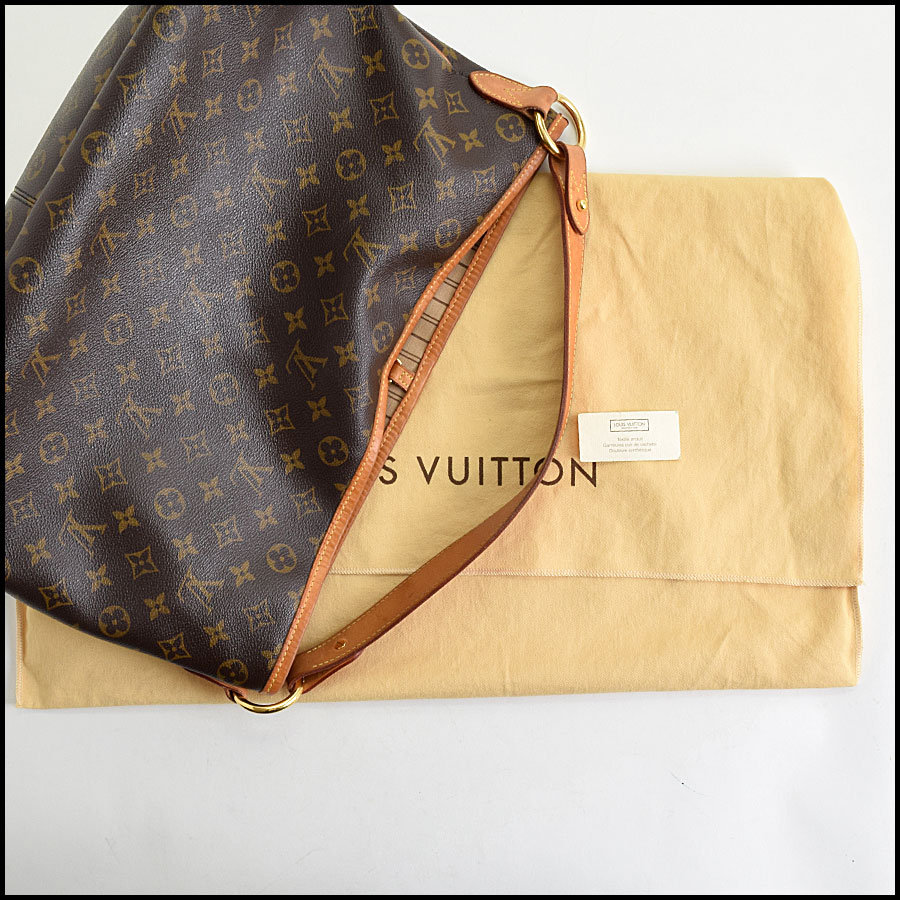 RDC9636 Louis Vuitton LV Monogram Delightful MM Hobo Bag includes