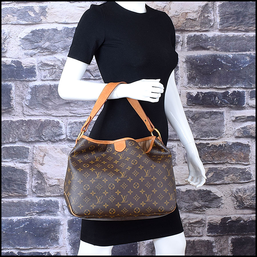 RDC9636 Louis Vuitton LV Monogram Delightful MM Hobo Bag model