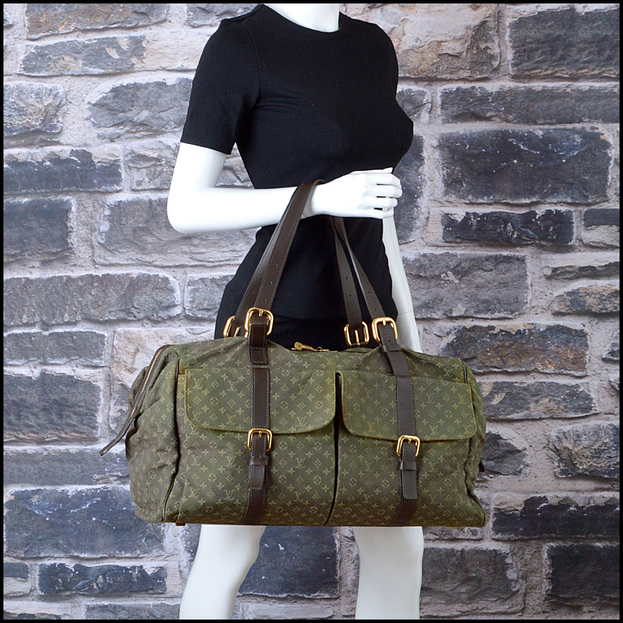 RDC8426 Louis Vuitton Olve Min Lin Weekender model