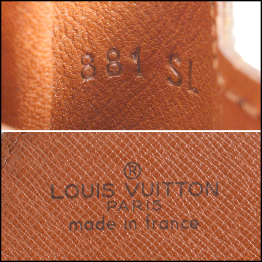 RDC8552 Louis Vuitton mini Cartouchiere tag