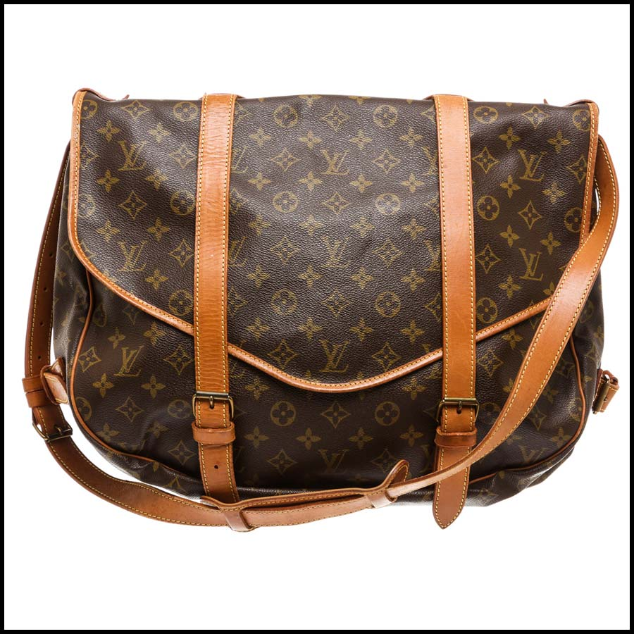 RDC7870 Louis Vuitton Monogram Canvas Saumur 43cm