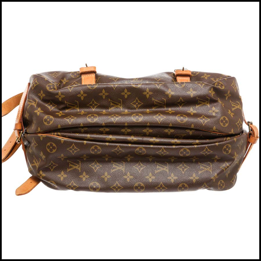 RDC7870 Louis Vuitton Monogram Canvas Saumur 43cm bottom