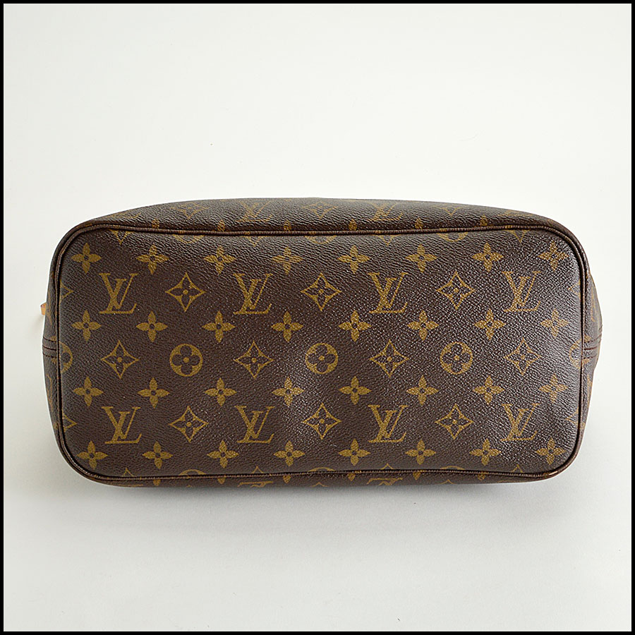 RDC8186 Louis Vuitton LV Monogram Neverfull MM Tote bottom