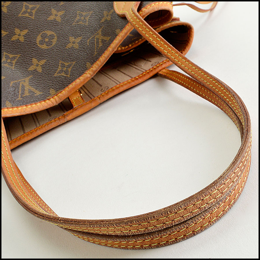 RDC8186 Louis Vuitton LV Monogram Neverfull MM Tote handle