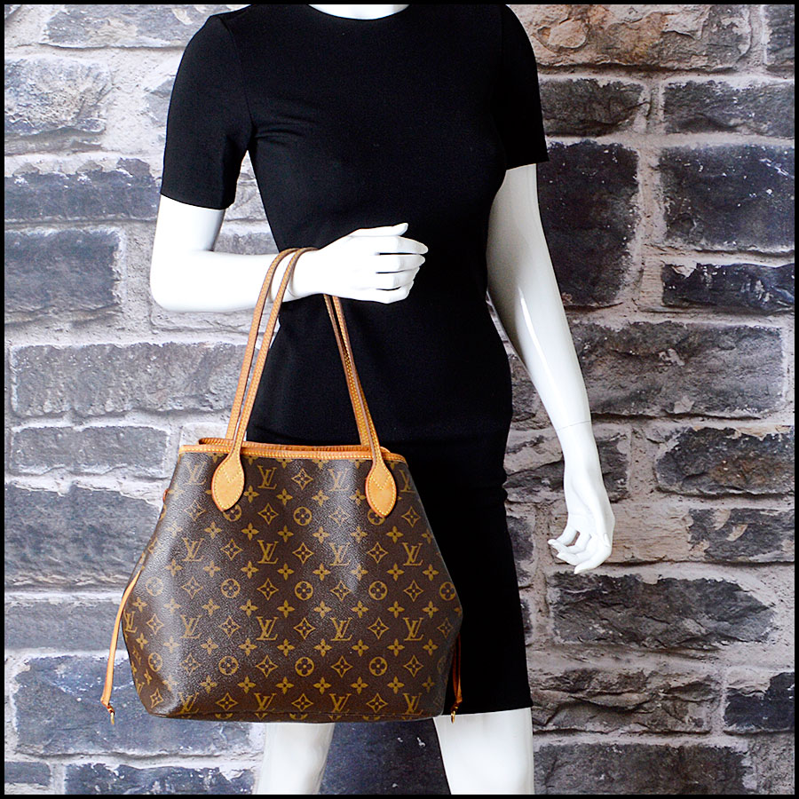 RDC8186 Louis Vuitton LV Monogram Neverfull MM Tote model