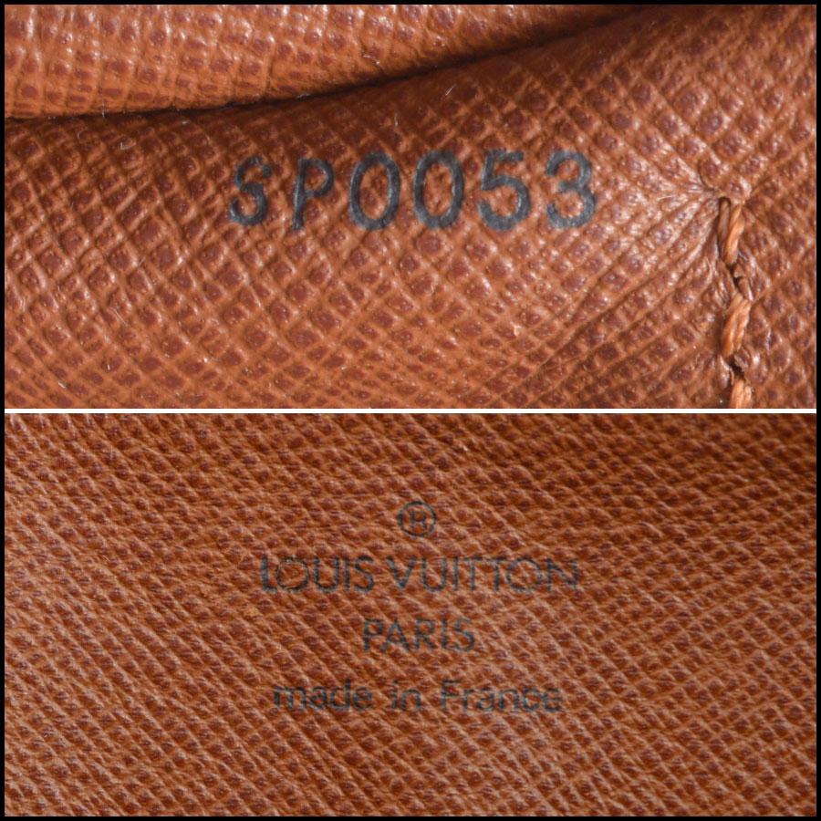 RDC8457 Louis vuitton papillon 26cm tag