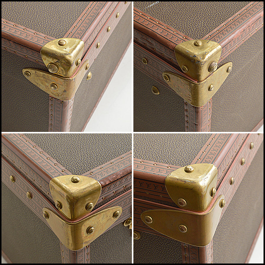RDC8850 Louis Vuitton Bisten 80 Trunk brass