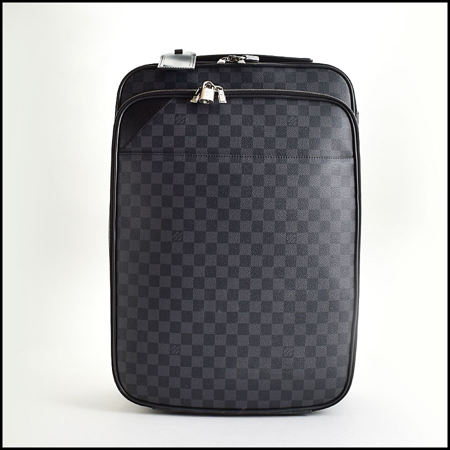 Louis Vuitton Damier Graphite Pegase Business Carry on